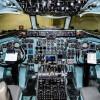 bloc-commande-DC9-manette-vue-cockpit