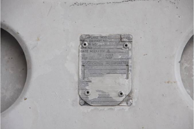 gruman_albatross_HU16_main_landing_door_identification_plate