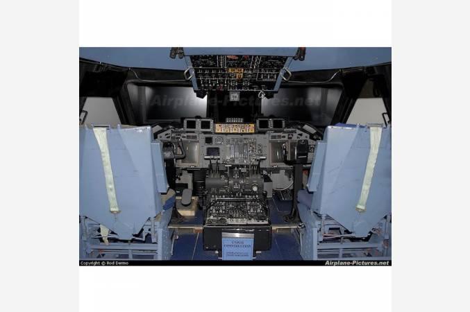 siege-pilote-avion-militaire-C135-startolifter-vue-reelle